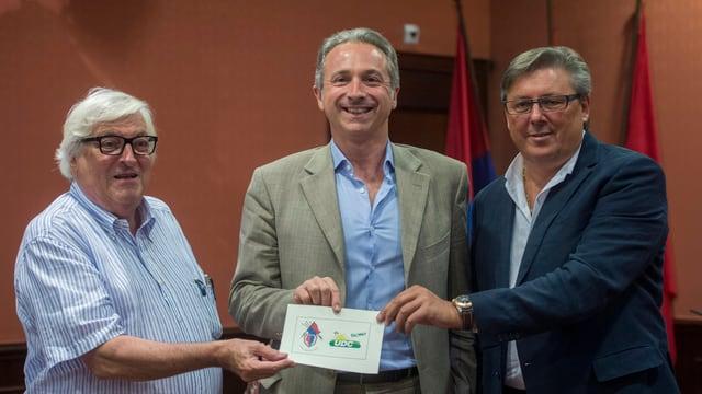 Tessiner Ständeratskandidat von Lega und SVP, Attilio Ghiggia.
