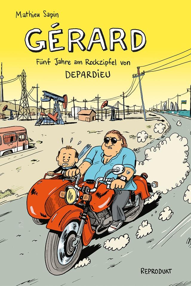 Fünf Jahre lang hat Comicautor Mathieu Sarpin den Schauspieler Gérard Depardieu begleitet.