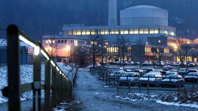 Das Atomkraftwerk Mühleberg lieferte 2012 soviel Strom wie noch nie.