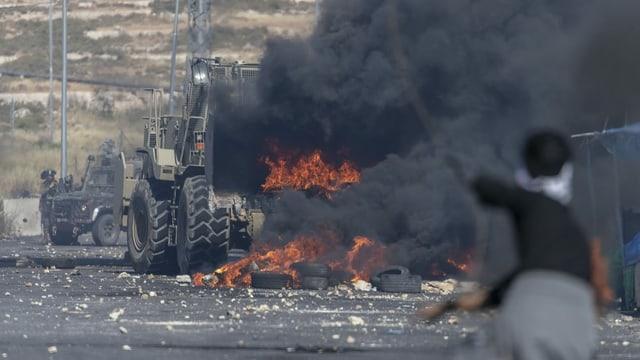 Conflict en l'Israel