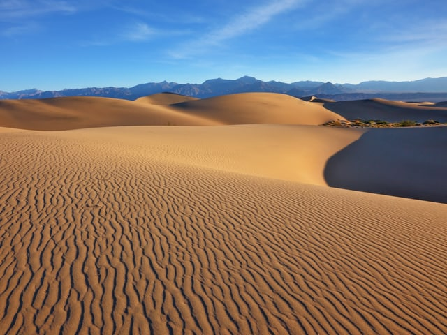 Wüstenpanorama.