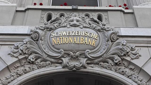 Portal da la Banca naziunala svizra a Berna.