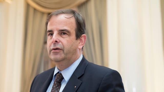 Gerhard Pfister, il president da la PCD.