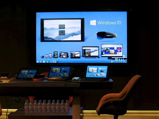 Bildschirm mit allen Gerätekategorien