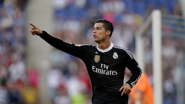 Il giugader da ballape Cristiano Ronaldo.