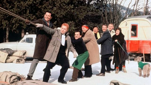Schneewittchen und die sieben Gaukler