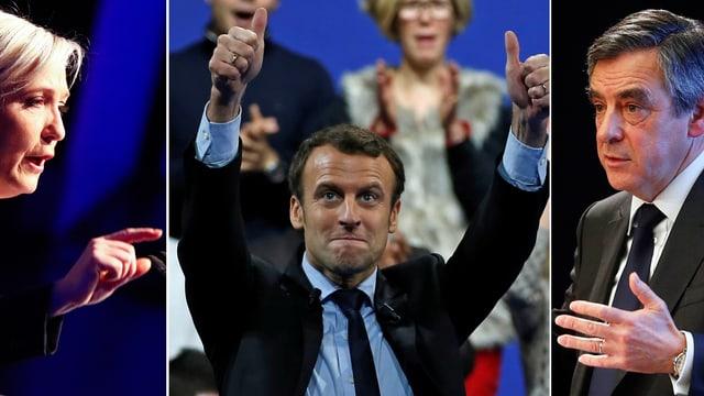 Marine Le Pen | Emmanuel Macron | François Fillon