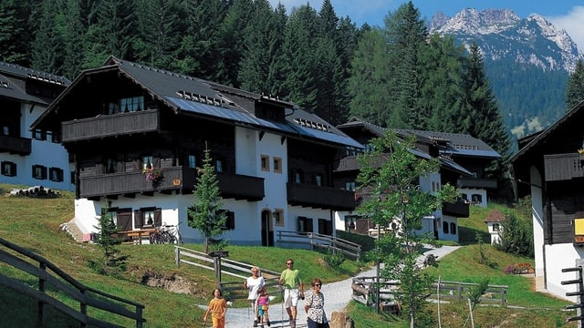 Eine von 60 Anlagen: Das Hapimag-Feriendorf in Kärnten.