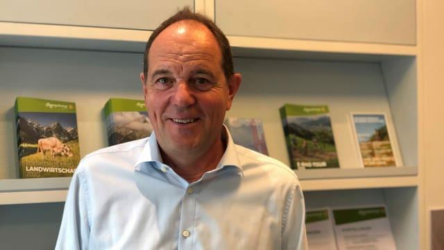 Portrait von Guido Buob, Geschäftsführer Appenzellerland Tourismus AI