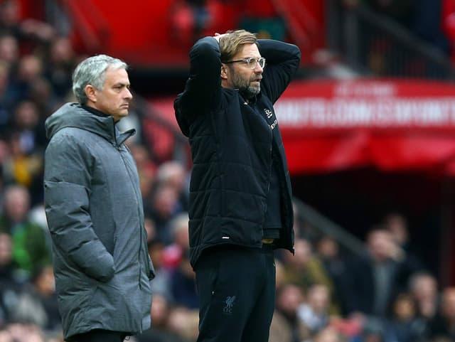 José Mourinho und Jürgen Klopp.