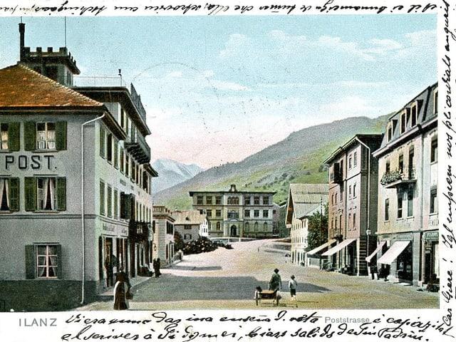 Postkarte von Illanz