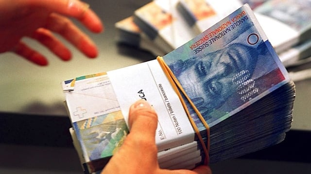 Banknoten-Bündel