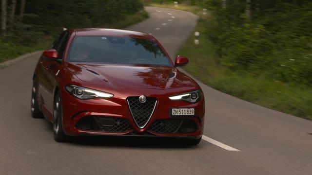 Video «Alfa Romeo Giulia, beim Opel-Designer, am 24-Stunden-Rennen» abspielen
