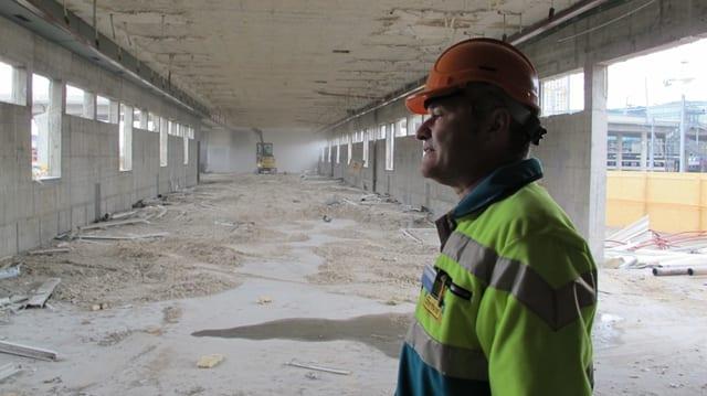 Auf dem Areal des Zürcher Güterbahnhofes beginnen die Bauarbeiten für das PJZ.