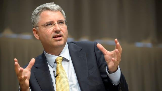 Severin Schwan, CEO der Roche