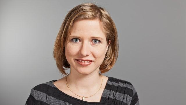 Porträt von Christa Markwalder.