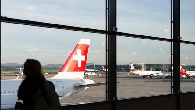 Aviuns da la Swissair.