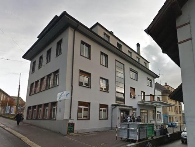 Das Gebäude von aussen.