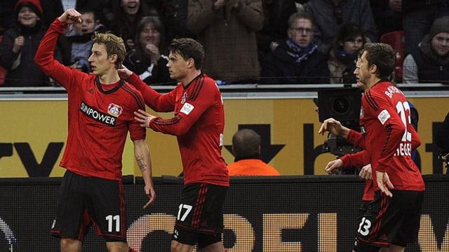 Der Leverkusen-Stürmer traf doppelt.