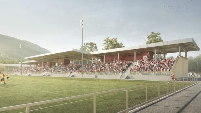 visualisaziun stadion da ballape.