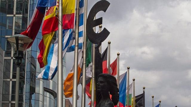 bandieras da commembers da l'UE