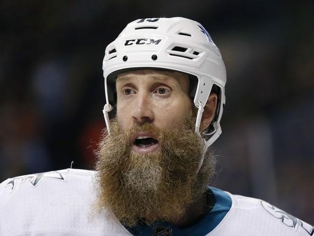 Der 41-jährige Joe Thornton stürmt bald für Toronto.