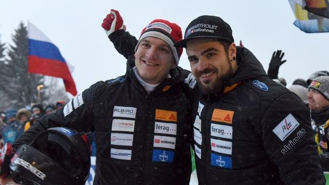 Clemens Bracher e Michael Kuonen.