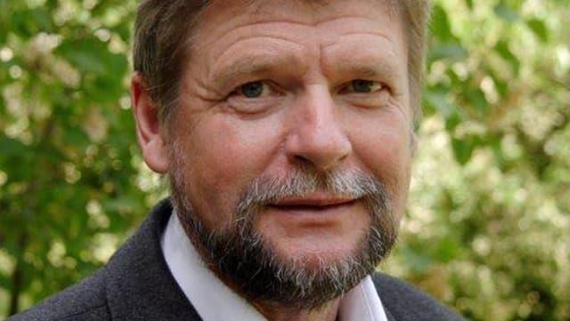 Porträt von Klaus Schroeder.