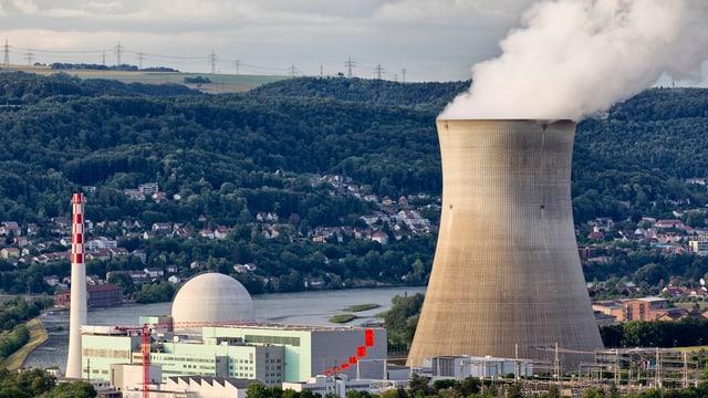 L'ovra atomara Leibstadt è vegnida prendida è vegnida prendida da la rait questa sonda.