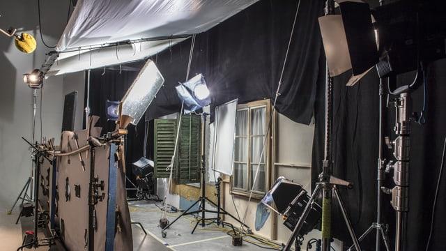 Filmkulisse im Studio