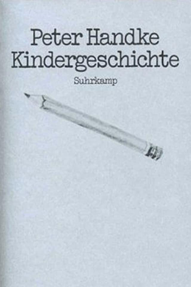 Buchcover von Peter Handkes «Kindergeschichte»