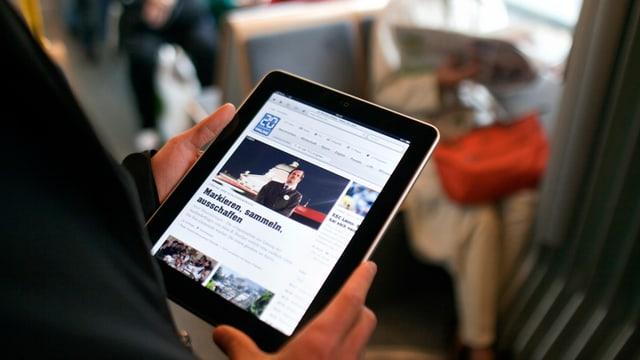 iPad cun la pagina da 20 minutas.