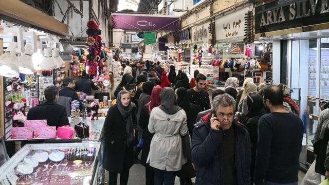 Blick in den Bazaar.