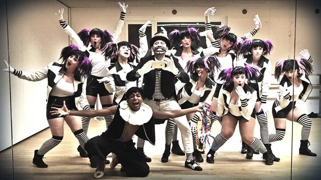 Porträt Tanzgruppe
