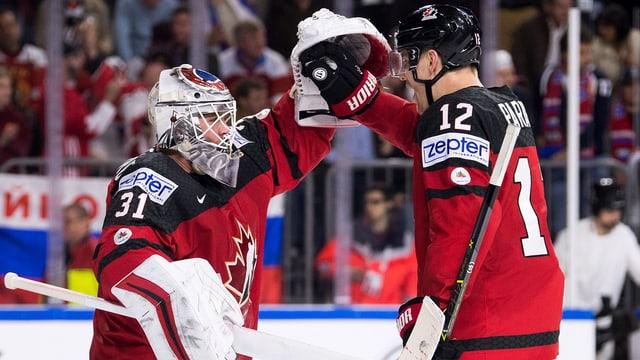 Il goli ed in giugader da l'equipa da hockey sin glatsch dal Canada.