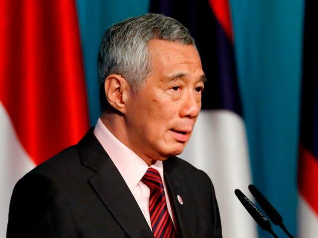 Singapurs Premierminister Lee Hsien Loong