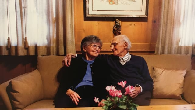 Giacun Barclamiu e Cecilia Cory-Spescha