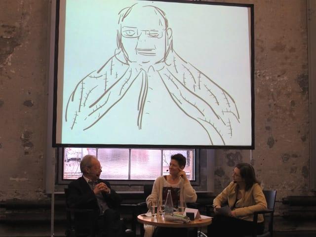 «Persönlich»-Gesprächsrunde in der St.Galler Lokremise.