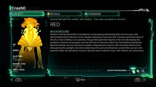 Hintergrundinformationen zur Figur Red.