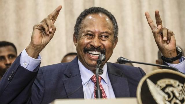 Sudans Premier Hamdok