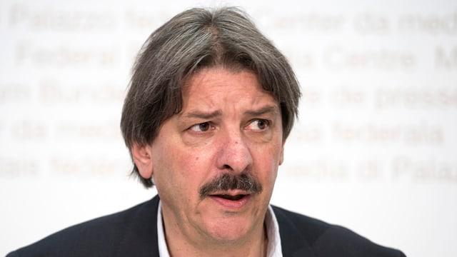 Paul Rechsteiner, il president da l'Uniun sindicala svizra e cusseglier dals chantuns (PS)