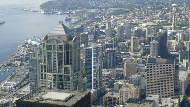 Skyline der Stadt Seattle