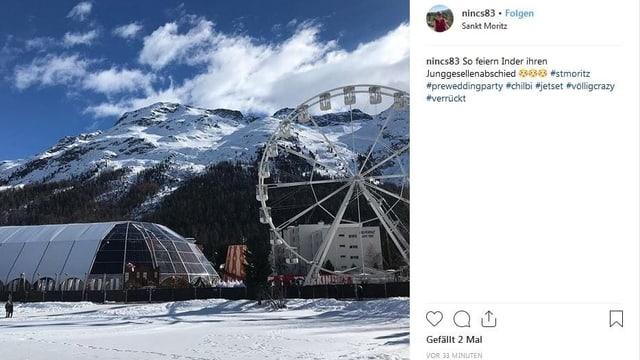 Chilbi in St. Moritz
