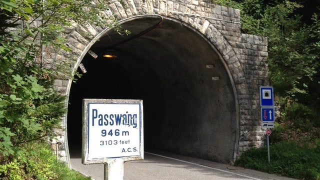 Passwangstrasse Tunnel