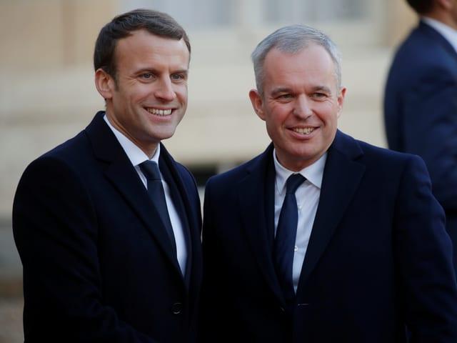 Macron und de Rugy