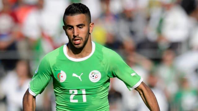 Algeriens Riyad Mahrez.