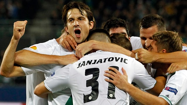 St. Gallen gastiert in der Europa League bei Valencia.