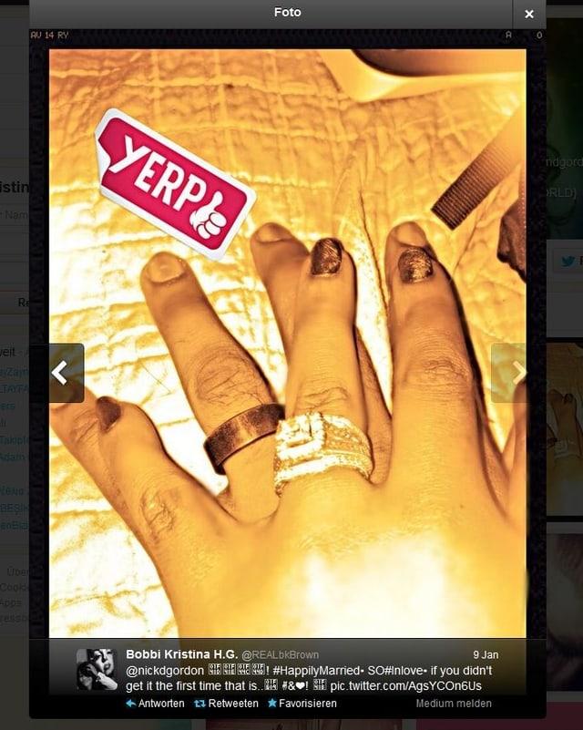 Hände mit Ring