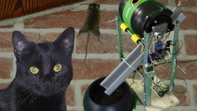 Happy Days für Maus und Katz': Der Sanch-o-Mat.