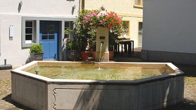 Brunnen Bottmingen